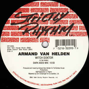 Armand Van Helden: Witch Doctor